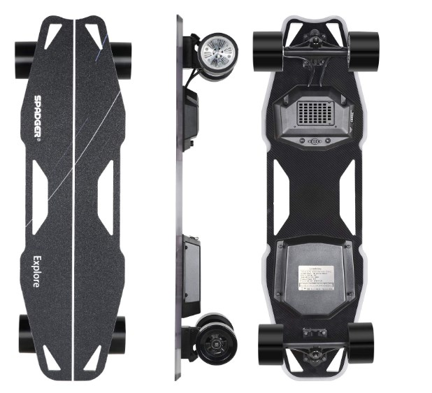 Spadger Electric Skateboard review