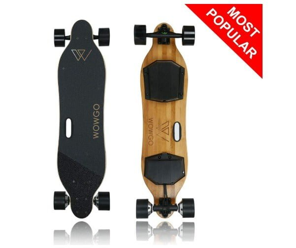 wowgo 2s (38 ) electric skateboard review